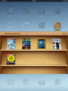 iPad Zeitungskiosk